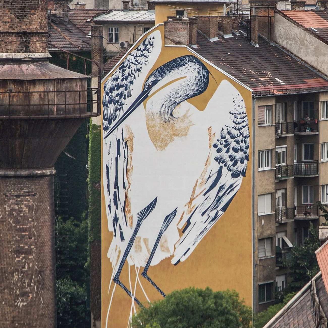 Szokatlan léptékek – Így készült Budapest legnagyobb madara